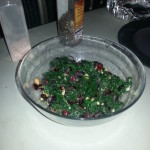 Crushed Cashew and Craisin Salad
